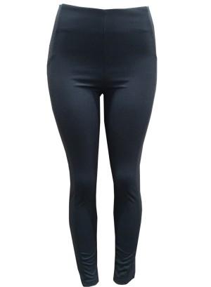Banded waistline leggings. Aw15-Black
