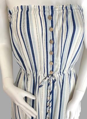 JTD1344DXQ-Blue White Stripe