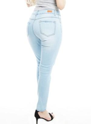 Distressed Skinny Jeans. MD0011 Light Blue